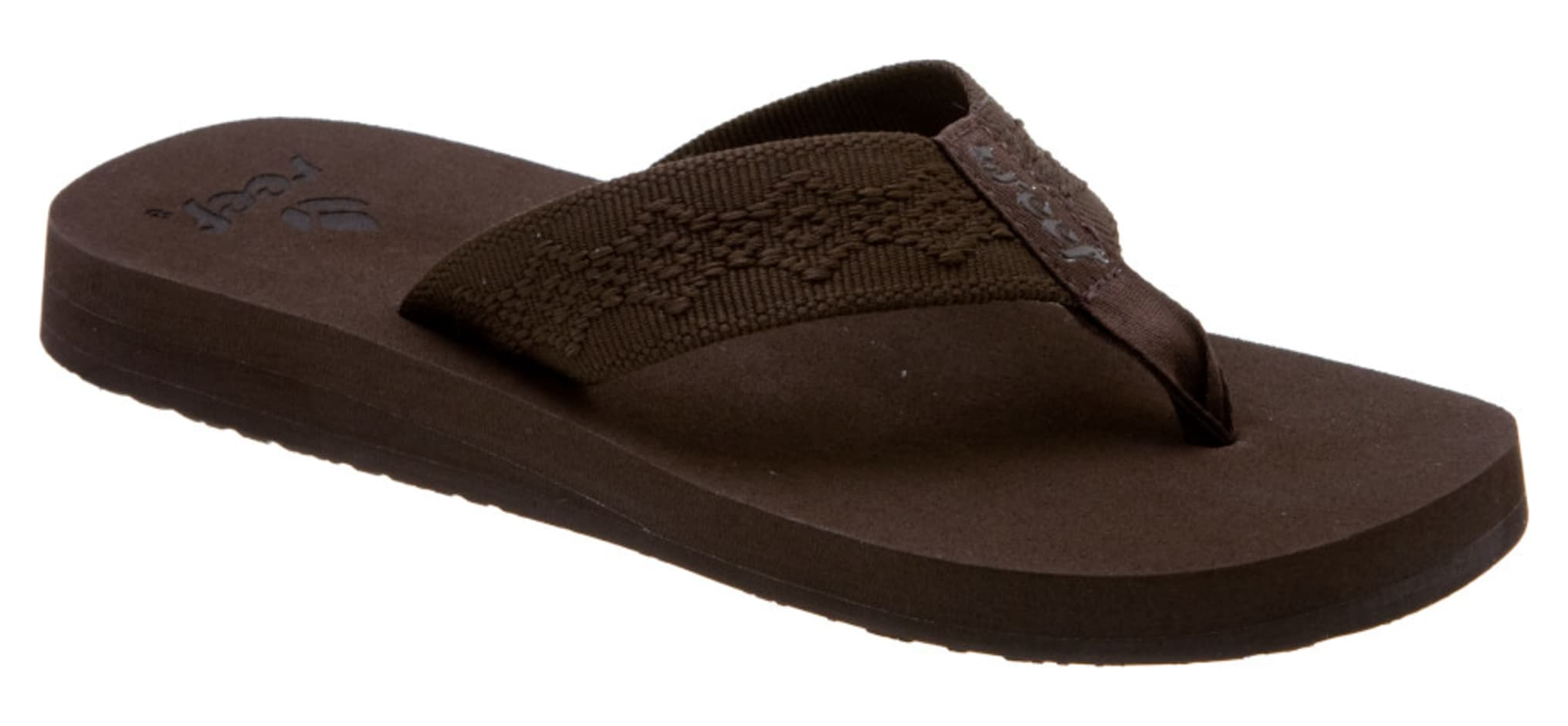 Excellent Reef Girls Cushion Moon (Brown) Womenu0026#39;s Sandals
