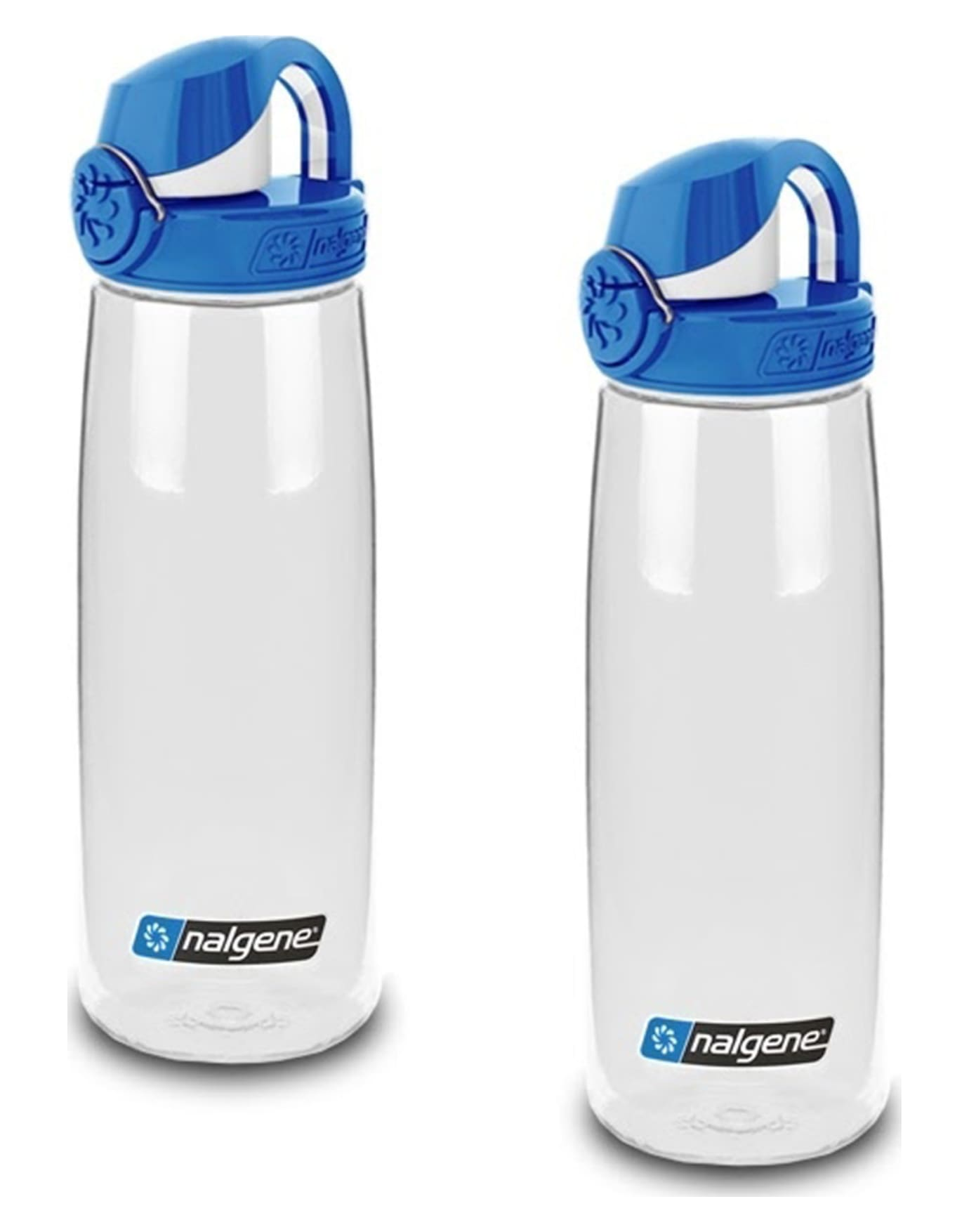 Nalgene On The Fly 24 Oz Water Bottle Clear W Blue And