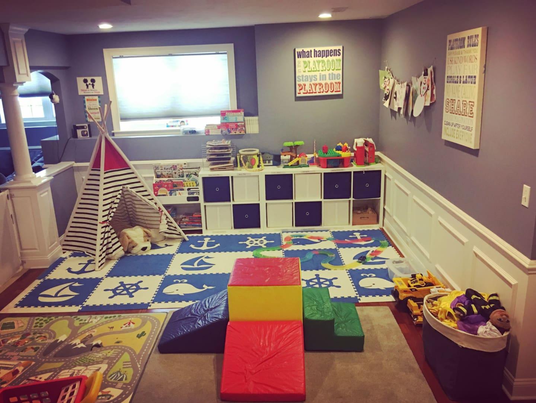 Jessica Whitmore | Playroom Organization and Decorating
