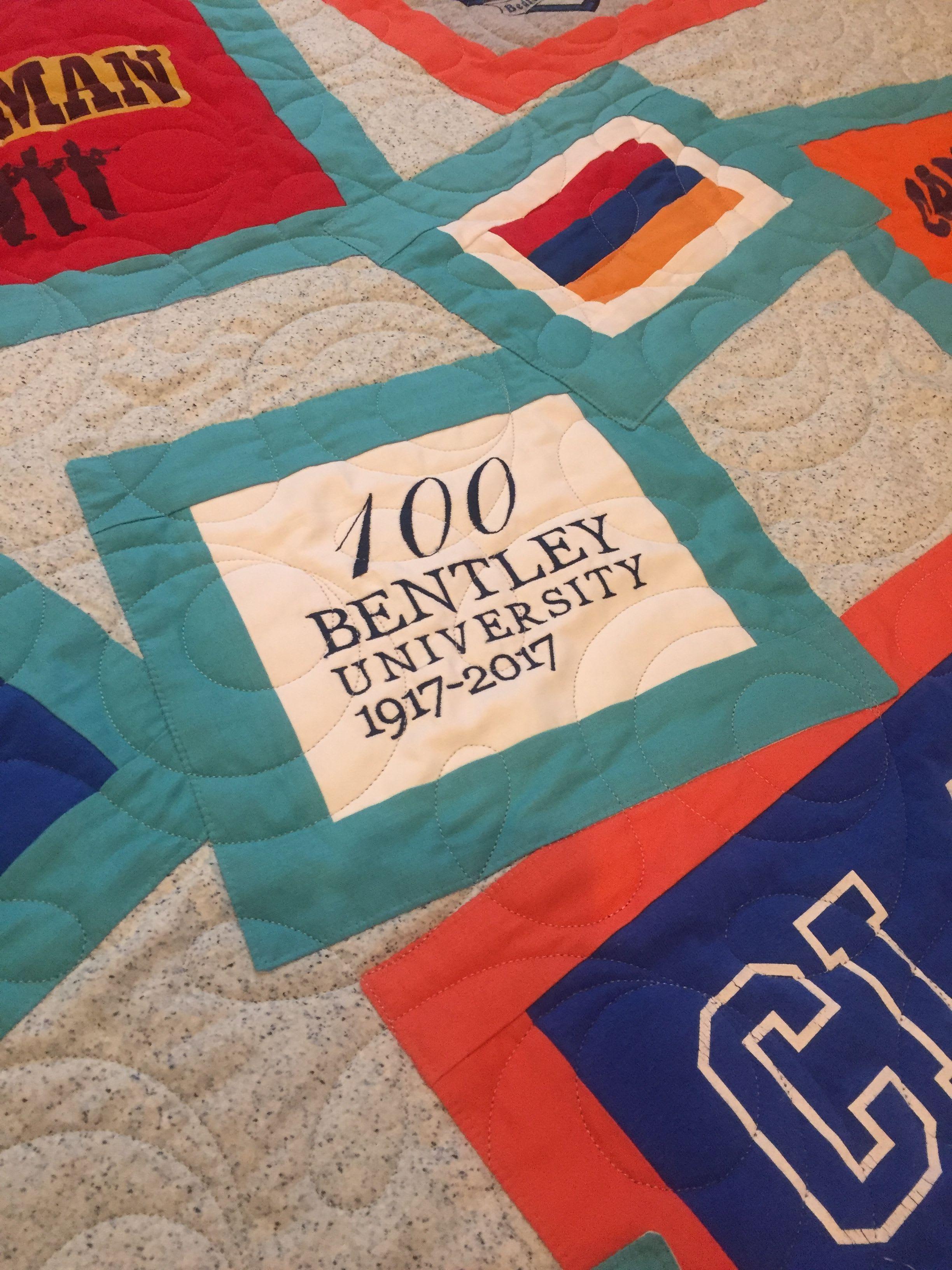 Bentley College Graduation Quilt