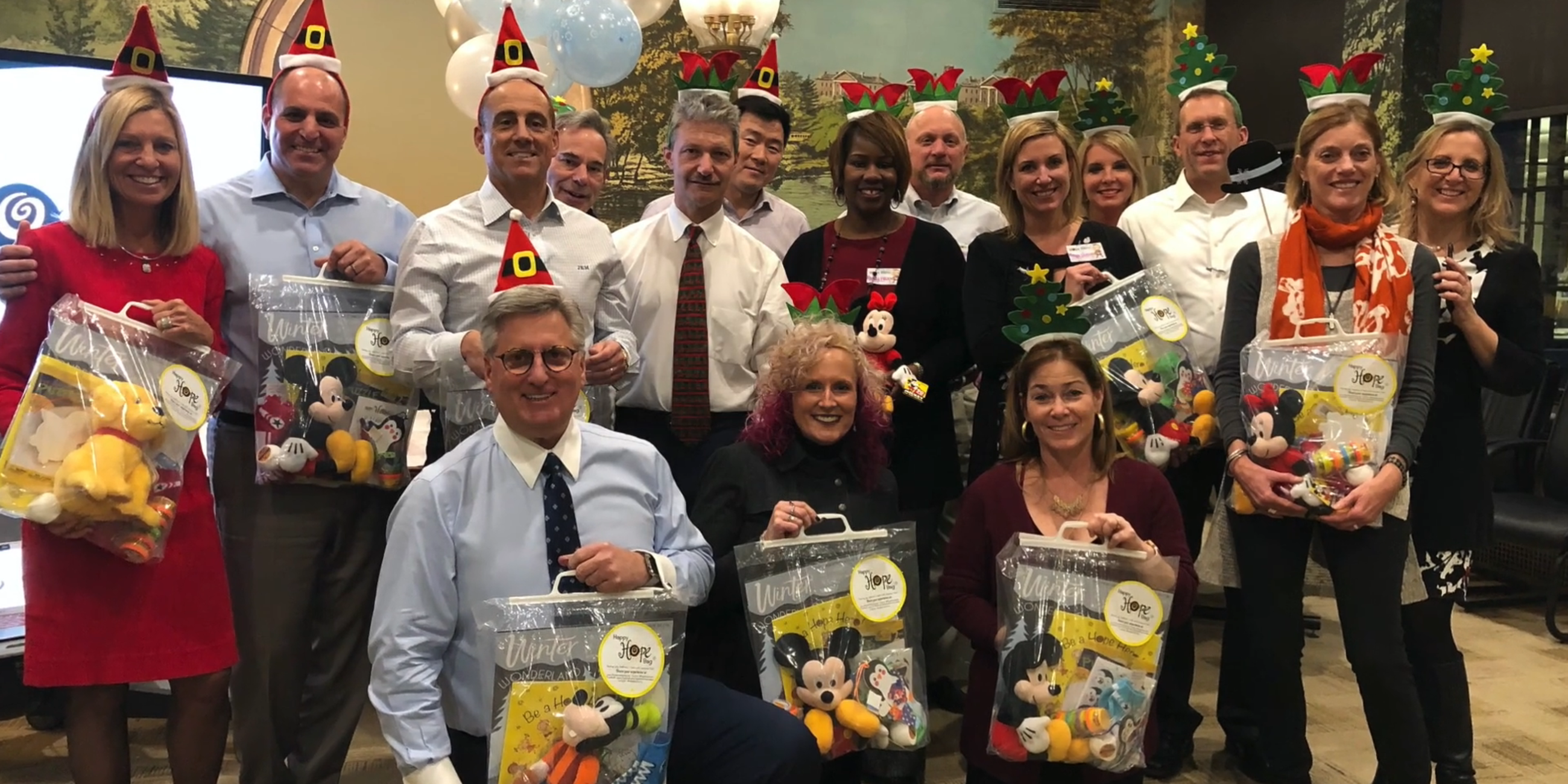 Assemble Holiday Gift Bags for Hospitalized Children