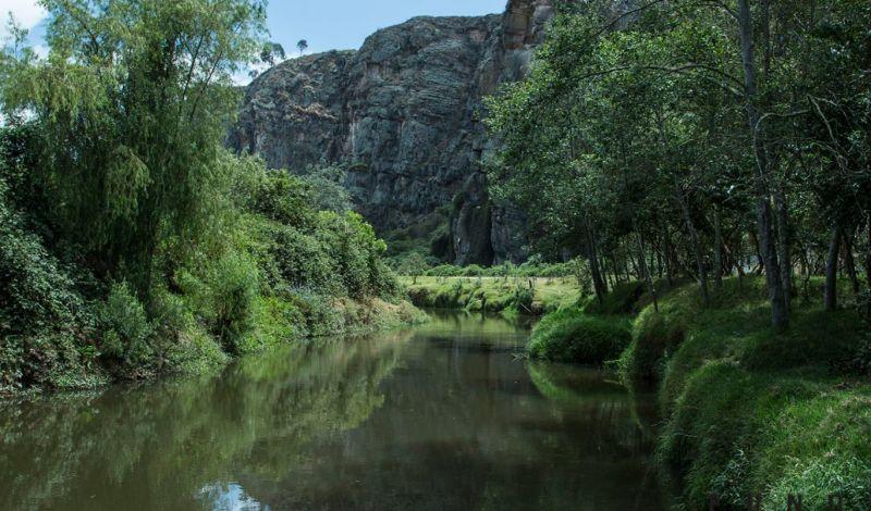 Fundación Al Verde Vivo: Suesca Nature Walk: Explore the Environment of the Bogota River