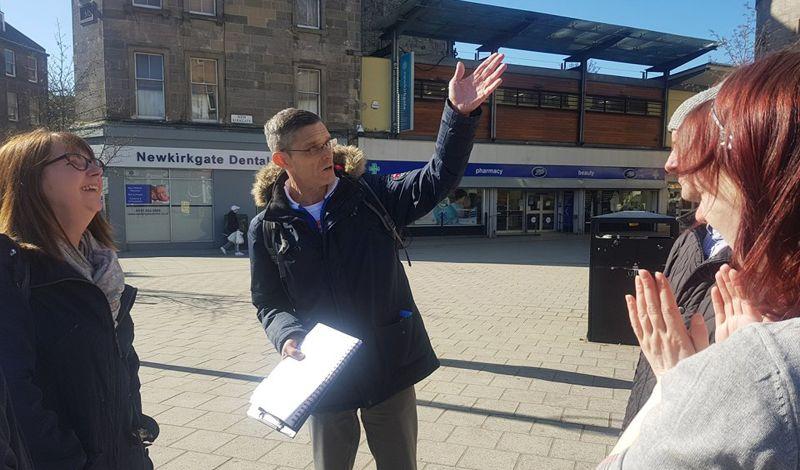Invisible (Edinburgh): Edinburgh Walking Tour: History of the Trainspotting Generation