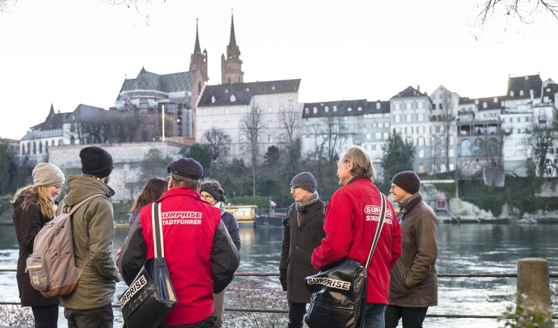 Surprise: Basel Discovery Tour: Experience the Invisible Side of the City
