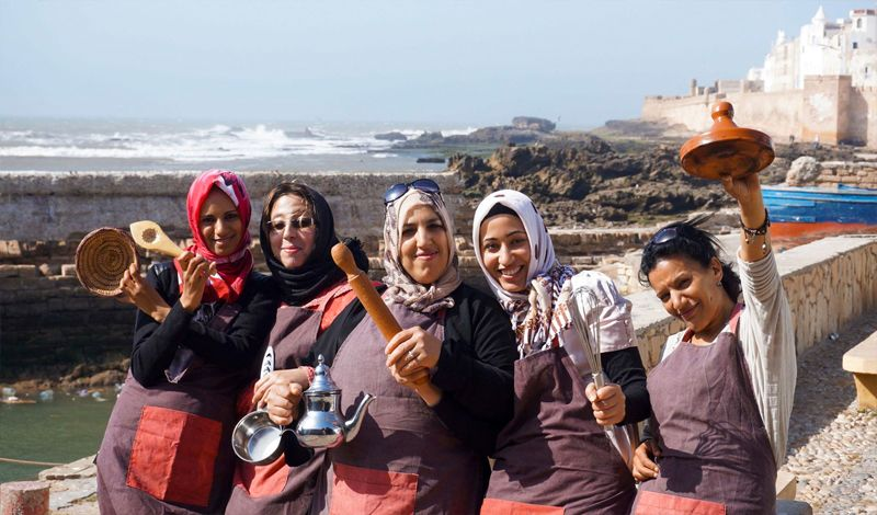Association Feminine El Khir: Essaouira Cooking Class: Bake Moroccan Desserts & Pastries