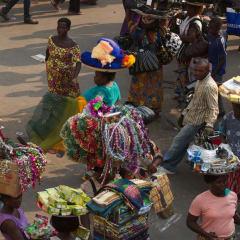 Akodessewa Fetish Market - voodoo market