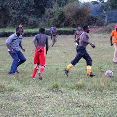 Uganda tradition - play netball