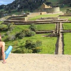 Ingapirca Ruins Ecuador