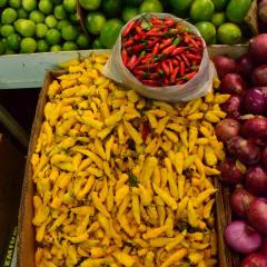 Chile market fresh produce