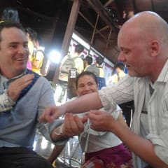 Baci ceremony - ancient Laos customs