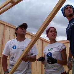 building a emergency house in Mexico
