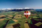 Hot Air Ballooning Over Canterbury Plains