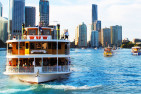 Brisbane River Lights Lunch Cruise And Buffet-Saturday-For 2