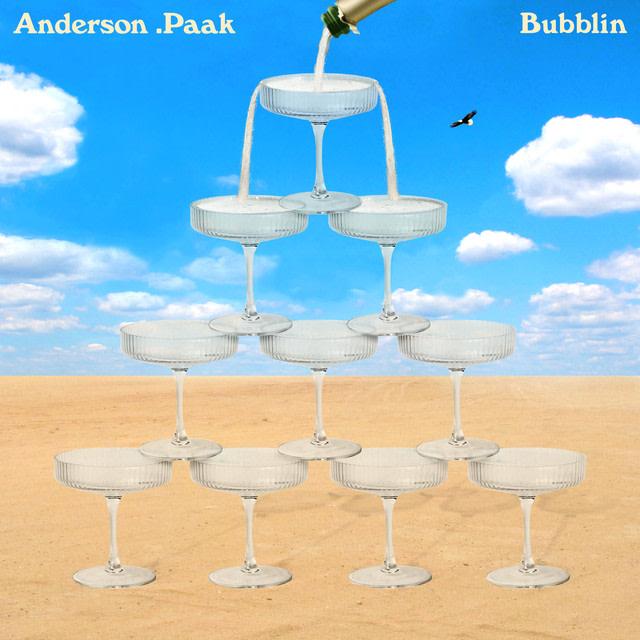 Anderson .Paak - Bubblin album artwork
