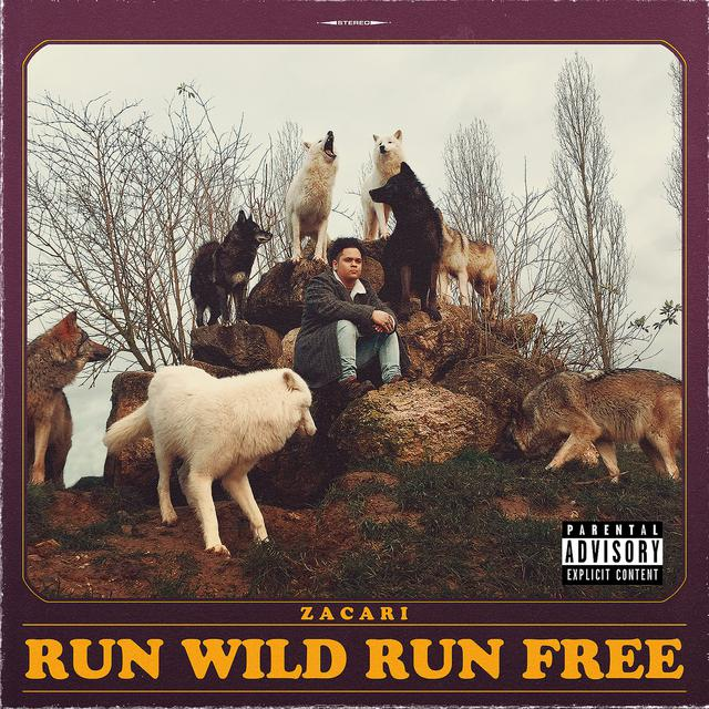 Zacari - Run Wild Run Free album artwork