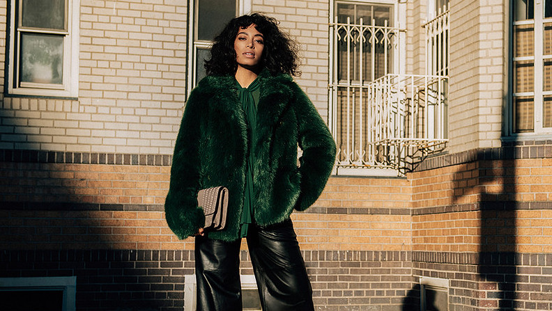 f21b3ec5c571 Solange stuns in Michael Kors' first-ever street style campaign | REVOLT -  UNAPOLOGETICALLY HIP HOP