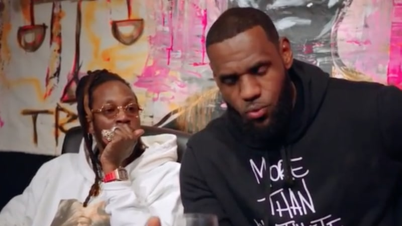2 Chainz recruits LeBron James to A&R his new 'Rap Or Go to