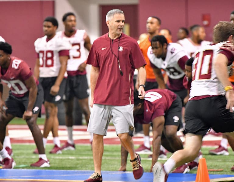 Warchant - Warchant TV: FSU football's Mike Norvell talks Tour of Duty drills