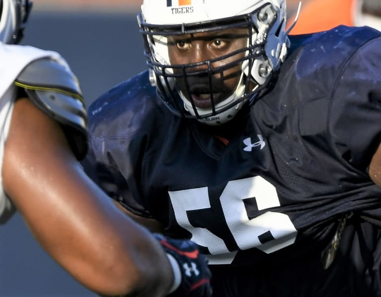 AuburnSports - Auburn offensive line picture getting clearer in third week of camp