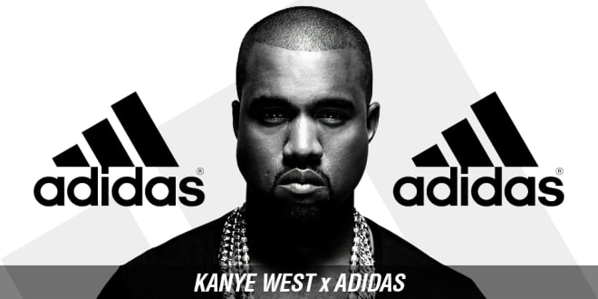 The Adidas partnership with rapper Kanye West has played a major factor in increasing their overall brand visibility.