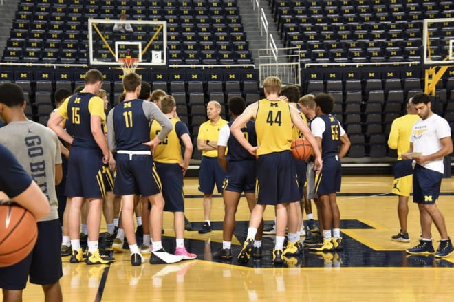 Videos: Beilein, Brazdeikis, Brooks Preview Weekend Matchup With Holy Cross