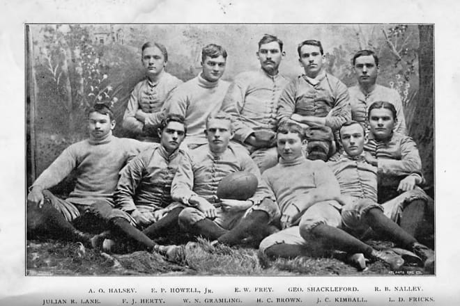 As the story goes, Georgia's 50-0 win over Mercer on this date 126 years ago should have been by a 60-0 score—but, how can that be?
