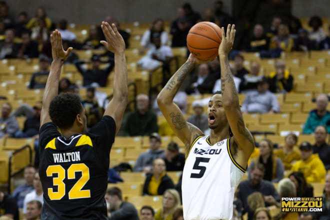 Mitchell Smith was one of two Tigers in double figures, scoring ten in the loss to Tennessee