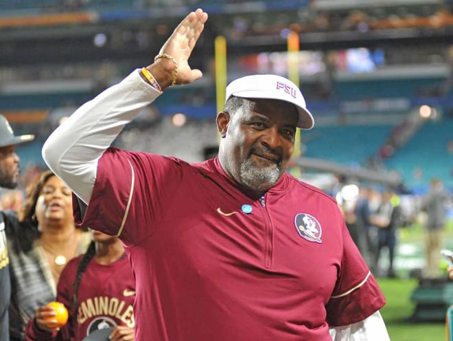 Odell Haggins has become one of the most beloved figures in Florida State football history.