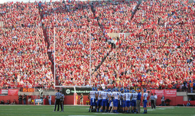 Improving the game day experience of the 98-row south end zone in Memorial Stadium is on short list of priorities going forward.