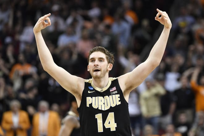 No. 3 Purdue holds off Alexander, No. 2 Tennessee in OT