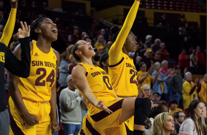 ASUDevils - Richardson moves to No. 2 on the ASU all-time assists list in ASU's win