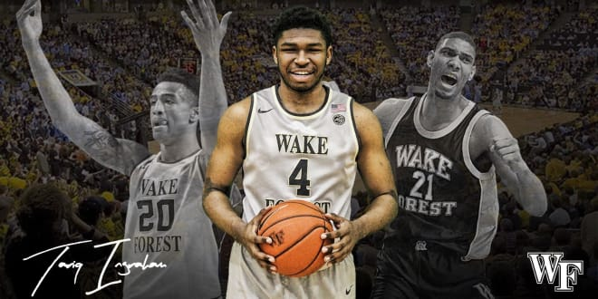 Big man joins three players who signed with the Deacs in the fall
