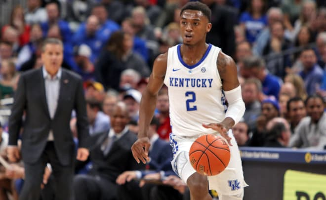 Ashton Hagans Will Return to Kentucky for Sophomore Season