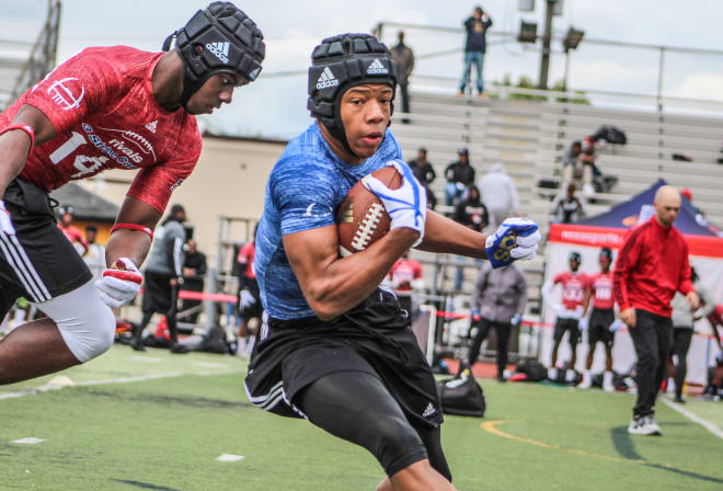 Four-star tailback Jalen Berger will arrive at Wisconsin in June.