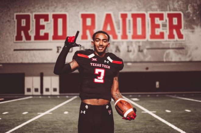 Texas Tech Football Schedule 2020.Redraidersports Texas Tech 2020 Commit High School