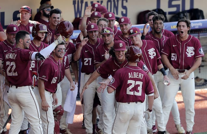 FSU defeats LSU in 12 innings to advance to College World Series