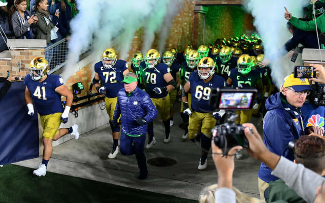 BlueAndGold - Notre Dame To Meet Iowa State In Camping World Bowl