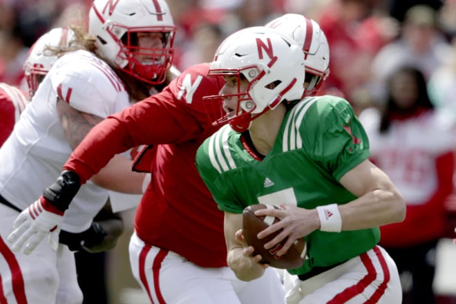 HuskerOnline - McCaffrey showing 'out of sight' mentality in first fall camp
