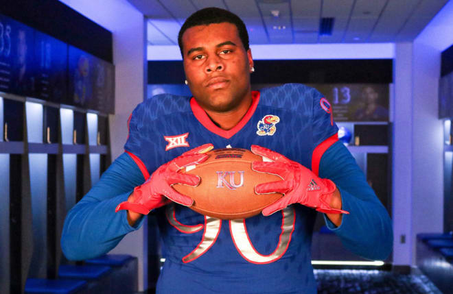 Brown heard from the Jayhawks in January and was glad to hear from them again