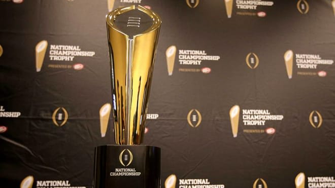 A first for the College Football Playoff rankings