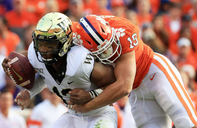 No slowing these Tigers: Wake Forest becomes Clemson's sixth-straight blowout victim