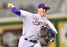 Junior pitcher Zach Hess, LSU's Friday night starter, is sidelined for an unspecified length of time with a groin injury