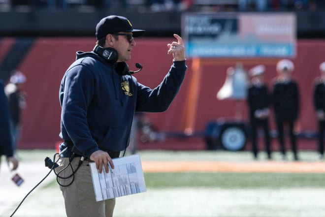 TheWolverine - Videos: Harbaugh Praises Patterson's Efforts; Players Discuss The Win