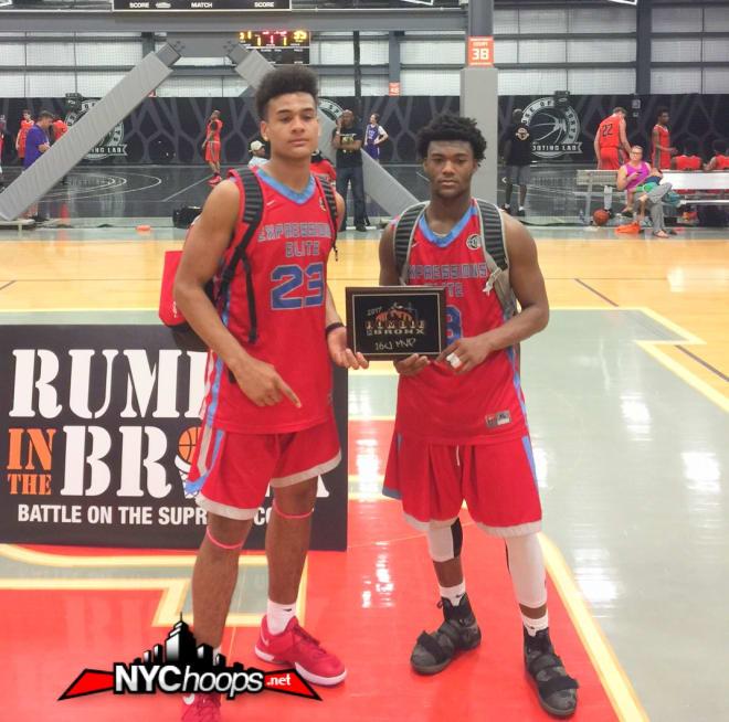 Co-MVP's Joe Pridgen & Aireus Raspberry