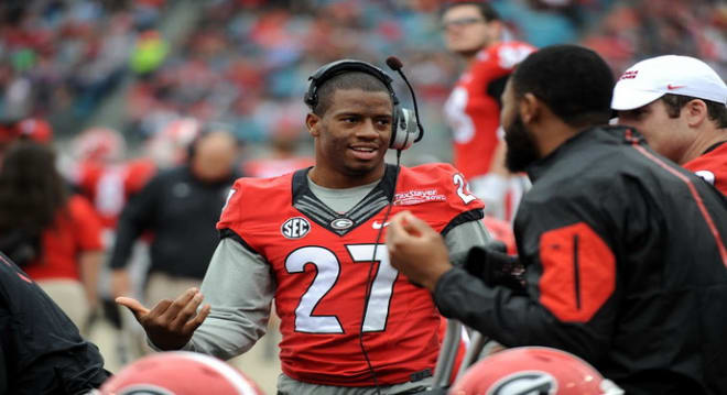 Images of Nick Chubb attacking the treadmill are simply amazing.