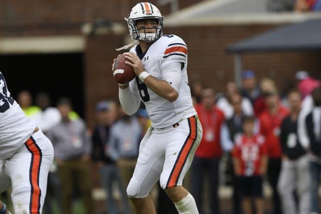 Jarrett Stidham of Auburn Tigers to forgo final season for National Football League  draft