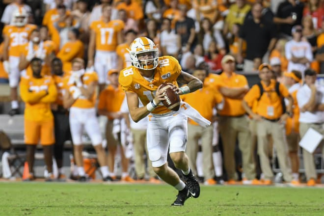Vols stagnant after halftime in loss to Georgia
