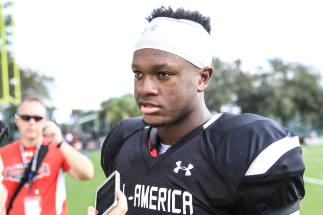 Davis will take official visits to Auburn and Alabama before making a decision.