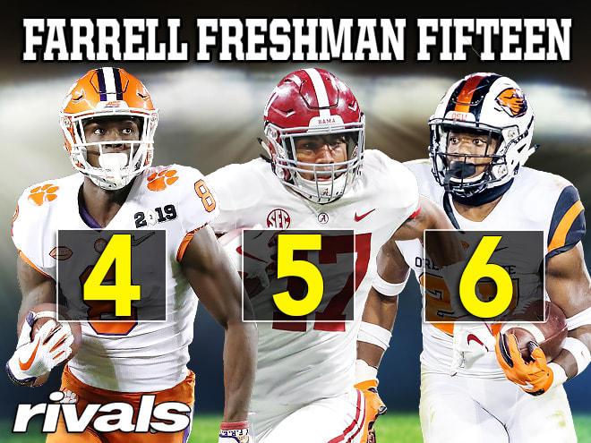 Farrell Freshman 15: Nos. 4-6