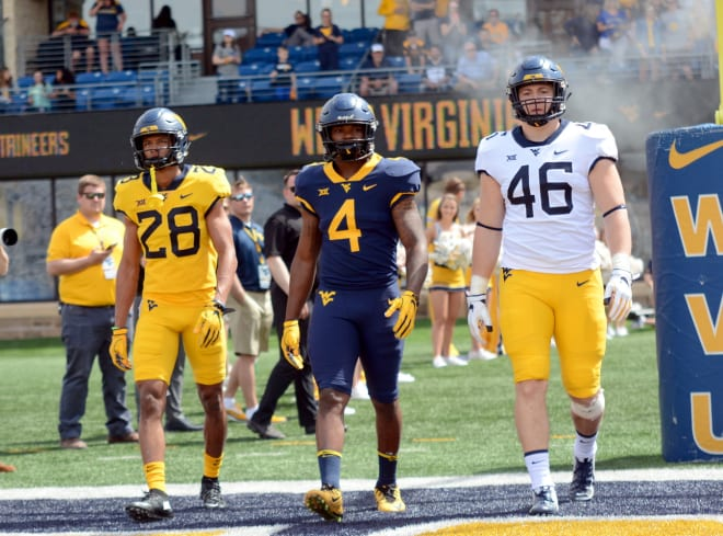The West Virginia Mountaineers football team has undergone several different jersey alternations this century.